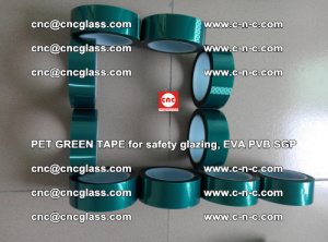 Green Ribbon Tape for safety laminated glass galzing (12)
