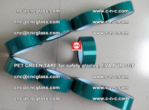 Green Ribbon Tape for safety laminated glass galzing (15)