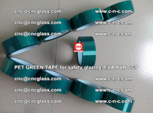 Green Ribbon Tape for safety laminated glass galzing (16)