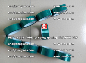 Green Ribbon Tape for safety laminated glass galzing (17)