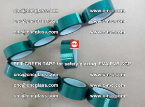 Green Ribbon Tape for safety laminated glass galzing (19)