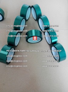 Green Ribbon Tape for safety laminated glass galzing (21)
