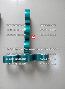 Green Ribbon Tape for safety laminated glass galzing (24)