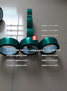 Green Ribbon Tape for safety laminated glass galzing (27)
