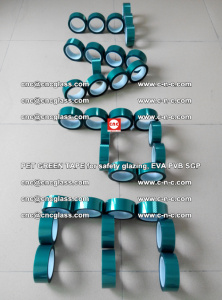 Green Ribbon Tape for safety laminated glass galzing (29)