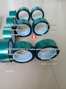 Green Ribbon Tape for safety laminated glass galzing (32)