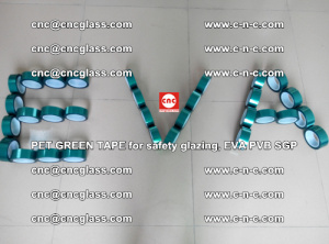 Green Ribbon Tape for safety laminated glass galzing (38)