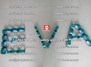 Green Ribbon Tape for safety laminated glass galzing (39)