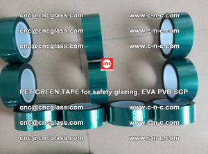 Green Ribbon Tape for safety laminated glass galzing (4)