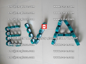Green Ribbon Tape for safety laminated glass galzing (42)