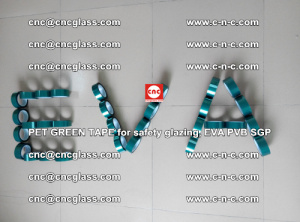 Green Ribbon Tape for safety laminated glass galzing (45)