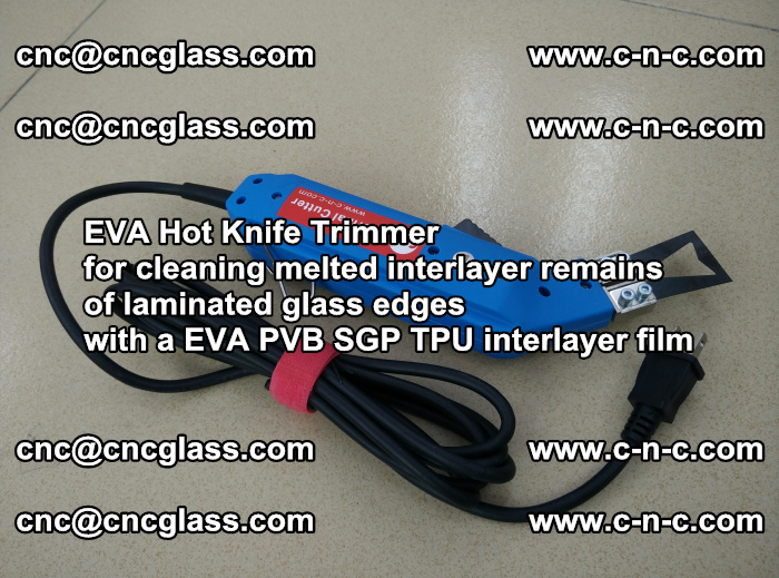 EVA Hot Knife Trimmer for cleaning interlayer remains of solar panel modules (1)