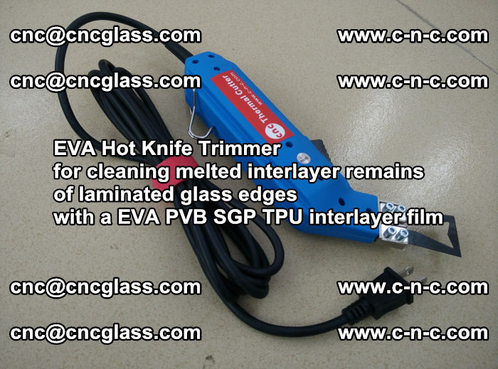 EVA Hot Knife Trimmer for cleaning interlayer remains of solar panel modules (11)
