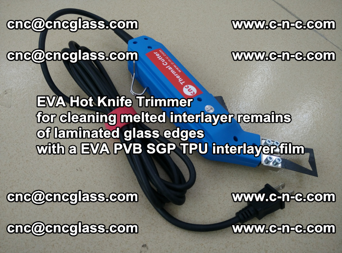 EVA Hot Knife Trimmer for cleaning interlayer remains of solar panel modules (12)