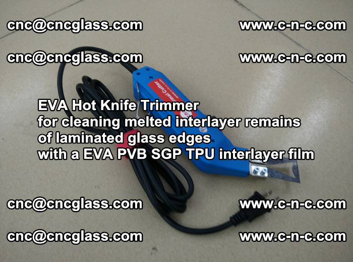 EVA Hot Knife Trimmer for cleaning interlayer remains of solar panel modules (20)