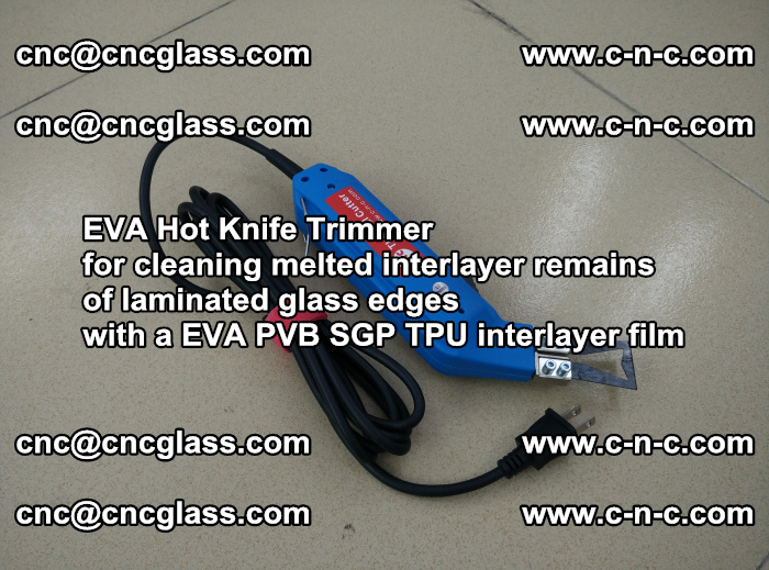 EVA Hot Knife Trimmer for cleaning interlayer remains of solar panel modules (33)