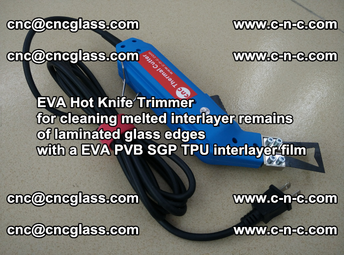 EVA Hot Knife Trimmer for cleaning interlayer remains of solar panel modules (43)