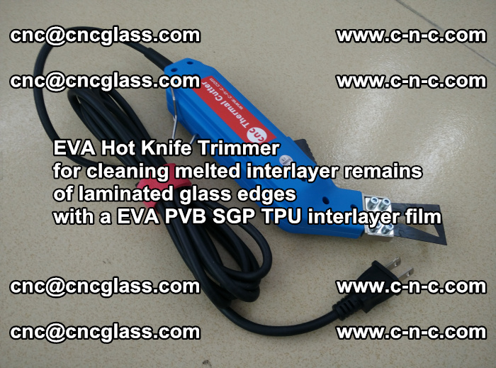 EVA Hot Knife Trimmer for cleaning interlayer remains of solar panel modules (49)