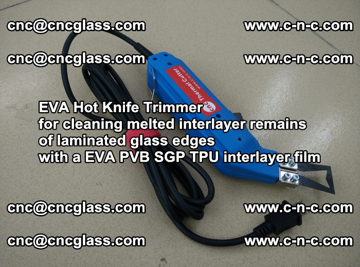 EVA Hot Knife Trimmer for cleaning interlayer remains of solar panel modules (6)