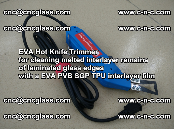 EVA Hot Knife Trimmer for cleaning interlayer remains of solar panel modules (7)